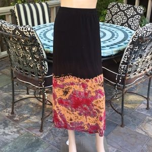 Go Couture Boho Maxi Skirt
